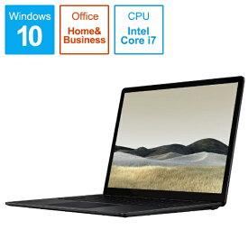 マイクロソフト Microsoft  SurfaceLaptop3 [13.5型 /SSD 1TB /メモリ 16GB /Intel Core i7 /ブラック/2019年] VGL-00018 ノートパソコン サーフェスラップトップ3[13.5インチ office付き 新品 windows10][VGL00018]