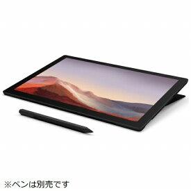 マイクロソフト Microsoft  SurfacePro7 [12.3型 /SSD 256GB /メモリ 16GB /Intel Core i7 /ブラック/2019年] VNX-00027 Windowsタブレット サーフェスプロ7[タブレット 本体 12インチ][VNX00027]