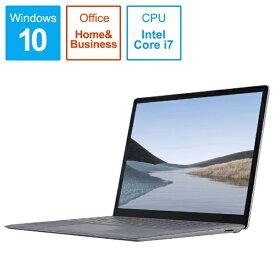 マイクロソフト Microsoft  SurfaceLaptop3 [13.5型 /SSD 512GB /メモリ 16GB /Intel Core i7 /プラチナ/2019年] VGS-00018 ノートパソコン サーフェスラップトップ3[13.5インチ office付き 新品 windows10][VGS00018]