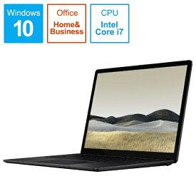 マイクロソフト Microsoft  SurfaceLaptop3 [13.5型 /SSD 512GB /メモリ 16GB /Intel Core i7 /ブラック/2019年] VGS-00039 ノートパソコン サーフェスラップトップ3[13.5インチ office付き 新品 windows10][VGS00039]