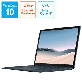 マイクロソフト Microsoft  SurfaceLaptop3 [13.5型 /SSD 512GB /メモリ 16GB /Intel Core i7 /コバルトブルー/2019年] VGS-00053 ノートパソコン サーフェスラップトップ3[13.5インチ office付き 新品 windows10][VGS00053]