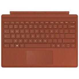 マイクロソフト Microsoft 【純正】 Surface Pro Signature タイプカバー ポピーレッド FFP-00119[サーフェス プロ キーボード]