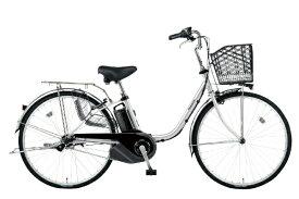 パナソニック Panasonic 電動アシスト自転車 VIVI・SX シャイニーシルバー BE-ELSX432S2 [3段変速 /24インチ]【組立商品につき返品不可】 【代金引換配送不可】