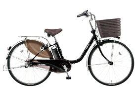 パナソニック Panasonic 24型 電動アシスト自転車 ビビ・DX(ピュアブラック/内装3段変速)BE-ELD436B【2020年モデル】【組立商品につき返品不可】 【代金引換配送不可】