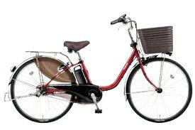 パナソニック Panasonic 24型 電動アシスト自転車 ビビ・DX(フレアレッド/内装3段変速)BE-ELD436R【2020年モデル】【組立商品につき返品不可】 【代金引換配送不可】