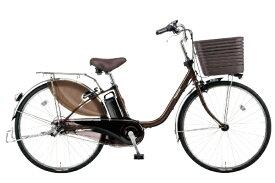 パナソニック Panasonic 電動アシスト自転車 VIVI・DX チョコブラウン BE-ELD636T [26インチ /3段変速]【組立商品につき返品不可】 【代金引換配送不可】