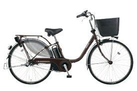 パナソニック Panasonic 電動アシスト自転車 VIVI・EX ビターブラウン BE-ELE636T2 [26インチ /3段変速]【組立商品につき返品不可】 【代金引換配送不可】