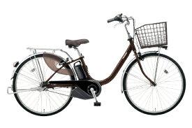 パナソニック Panasonic 24型 電動アシスト自転車 ビビ・L(チョコブラウン/内装3段変速)BE-ELL432T【2020年モデル】【組立商品につき返品不可】 【代金引換配送不可】