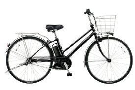 パナソニック Panasonic 27型 電動アシスト自転車 ティモ・DX(ピュアブラック/内装5段変速) BE-ELDT756B【2020年モデル】【組立商品につき返品不可】 【代金引換配送不可】