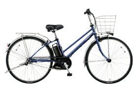 パナソニック Panasonic 電動アシスト自転車 ティモ・DX インディゴブルーメタリック BE-ELDT756V2 [27インチ /5段変速]【組立商品につき返品不可】 【代金引換配送不可】