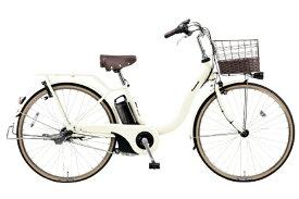 パナソニック Panasonic 26型 電動アシスト自転車 ティモ・L(オフホワイト/内装3段変速) BE-ELSL632F2【2020年モデル】【組立商品につき返品不可】 【代金引換配送不可】
