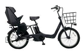 パナソニック Panasonic 20型 電動アシスト自転車 ギュット・アニーズ・DX(マットジェットブラック/内装3段変速) BE-ELAD032B【2020年モデル】【組立商品につき返品不可】 【代金引換配送不可】