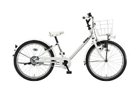 ブリヂストン BRIDGESTONE 22型 子供用自転車 ビッケ j(E.XBKホワイト/シングルシフト)BKJ22【2020年モデル】【組立商品につき返品不可】 【代金引換配送不可】