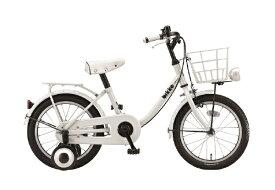 ブリヂストン BRIDGESTONE 16型 子供用自転車 ビッケ m(E.YBKホワイト/シングルシフト)BKM16【2020年モデル】【組立商品につき返品不可】 【代金引換配送不可】