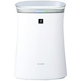シャープ SHARP FU-L50BK-W 空気清浄機[適用畳数:23畳/PM2.5対応] ホワイト系[FUL50BK]【point_rb】