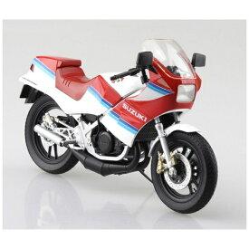 青島文化 AOSHIMA 1/12 完成品バイク SUZUKI RG250Γ レッド×ホワイト