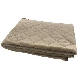 その他寝具メーカー 【敷きパッド】フランネル敷きパッド シングルサイズ(100×205cm/ベージュ)