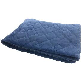 その他寝具メーカー 【敷きパッド】フランネル敷きパッド シングルサイズ(100×205cm/ブルー)