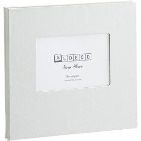 セキセイ SEKISEI XP-3808-70 ハーパーハウス スクラップアルバム ALDECOミニ ホワイト