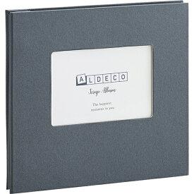 セキセイ SEKISEI XP-3818-60 ハーパーハウス スクラップアルバム ALDECOミニ ブラック