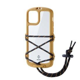エレコム ELECOM iPhone 11 Pro NESTOUT Fes&Camp イエロー PM-A19BNESTFYL
