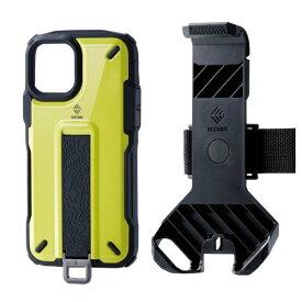 エレコム ELECOM iPhone 11 Pro NESTOUT Trekking ライムイエロー PM-A19BNESTTYL