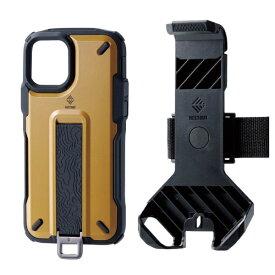 エレコム ELECOM iPhone 11 Pro NESTOUT Trekking コヨーテブラウン PM-A19BNESTTBR