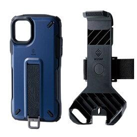 エレコム ELECOM iPhone 11 NESTOUT Trekking ネイビー PM-A19CNESTTNV
