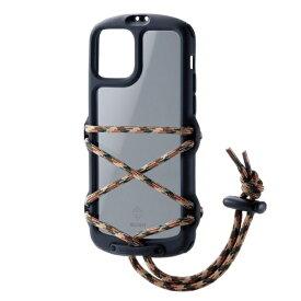 エレコム ELECOM iPhone 11 Pro NESTOUT Fes&Camp ブラック PM-A19BNESTFBK