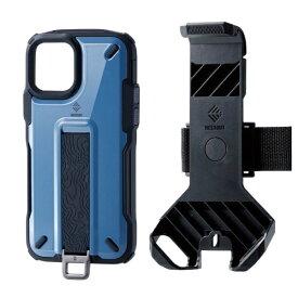 エレコム ELECOM iPhone 11 Pro NESTOUT Trekking スモーキーブルー PM-A19BNESTTBU