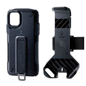 エレコム ELECOM iPhone 11 NESTOUT Trekking ブラック PM-A19CNESTTBK