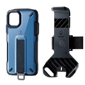 エレコム ELECOM iPhone 11 NESTOUT Trekking スモーキーブルー PM-A19CNESTTBU
