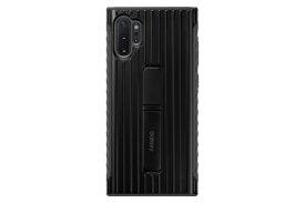 SAMSUNG サムスン 【サムスン純正】Galaxy Note10+用 PROTECTIVE STANDING COVER ブラック EF-RN975CBEGJP