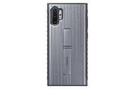 SAMSUNG サムスン 【サムスン純正】Galaxy Note10+用 PROTECTIVE STANDING COVER シルバー EF-RN975CSEGJP