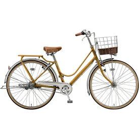 ブリヂストン BRIDGESTONE 26型 自転車 カジュナ ベーシックライン スタンダードチェーンモデル(E.Xキャラメルブラウン/内装3段変速)CAB63T【2020年モデル】【組立商品につき返品不可】 【代金引換配送不可】