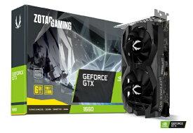 ZOTAC ゾタック ZOTAC GAMING GeForce GTX 1660 6GB GDDR5 ZT-1660-6G/ZT-T16600F-10L ZT-1660-6G/ZT-T16600F-10L[ZTT16600F10L]