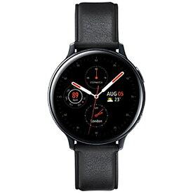 SAMSUNG サムスン サムスン ウェアラブル端末 Galaxy Watch Active2 44mm ブラック(ステンレス) SM-R820NSKAXJP