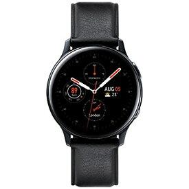 SAMSUNG サムスン サムスン ウェアラブル端末 Galaxy Watch Active2 40mm ブラック(ステンレス) SM-R830NSKAXJP[SMR830NSKAXJP]