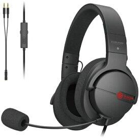 エレコム ELECOM HS-ARMA100BK ゲーミングヘッドセット ARMA FPS ブラック [φ3.5mmミニプラグ /両耳 /ヘッドバンドタイプ][HSARMA100BK]