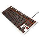 エレコム ELECOM TK-ARMA30WH ゲーミングキーボード ARMA FPS ホワイト [USB /有線]