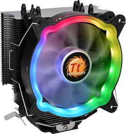 THERMALTAKE サーマルテイク CPUクーラー UX200 ARGB CL-P065-AL12SW-A[CLP065AL12SWA]