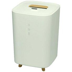 エレス ELAiCE LsHumidifierminiWH 加湿器 LsHumidifiermini(エルズヒュミディファイアーミニ) ホワイト [ハイブリッド(加熱+超音波)式 /2.5L]