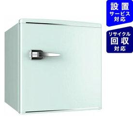 ウィンコド WINCOD 《基本設置料金セット》RT-148G レトロ冷蔵庫 TOHO TAIYO グリーン [1ドア /右開きタイプ /48L][RT148G]