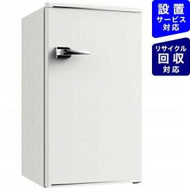 ウィンコド WINCOD レトロ冷蔵庫 TOHO TAIYO ホワイト RT-185W [1ドア /右開きタイプ /85L][冷蔵庫 一人暮らし 小型 新生活 RT185W]
