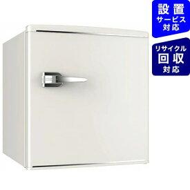 ウィンコド WINCOD レトロ冷蔵庫 TOHO TAIYO ホワイト RT-148W [1ドア /右開きタイプ /48L][冷蔵庫 一人暮らし 小型 新生活 RT148W]【zero_emi】