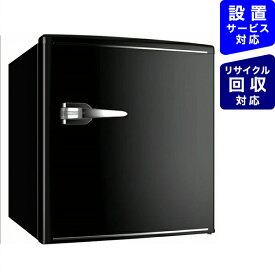ウィンコド WINCOD 《基本設置料金セット》RT-148B レトロ冷蔵庫 TOHO TAIYO ブラック [1ドア /右開きタイプ /48L][冷蔵庫 小型 RT148B]