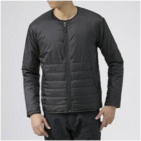 ミズノ mizuno メンズ ジャケット ブレスサーモサーモブリッドノーカラージャケット(Mサイズ/ブラック) B2ME9558