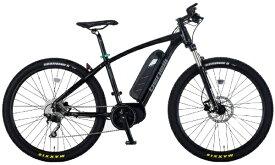 BENELLI 【eバイク】27.5型 電動アシスト自転車 TAGETE 27.5 S(サテンブラック/外装10段変速)【組立商品につき返品不可】 【代金引換配送不可】