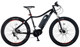 BENELLI 【eバイク】27.5型 電動アシスト自転車 NERONE27.5+(ブラック/外装10段変速)【組立商品につき返品不可】 【代金引換配送不可】