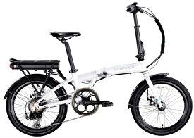 BENELLI 【eバイク】20型 折りたたみ電動アシスト自転車 ZERO N2.0(ホワイト/外装7段変速)【組立商品につき返品不可】 【代金引換配送不可】